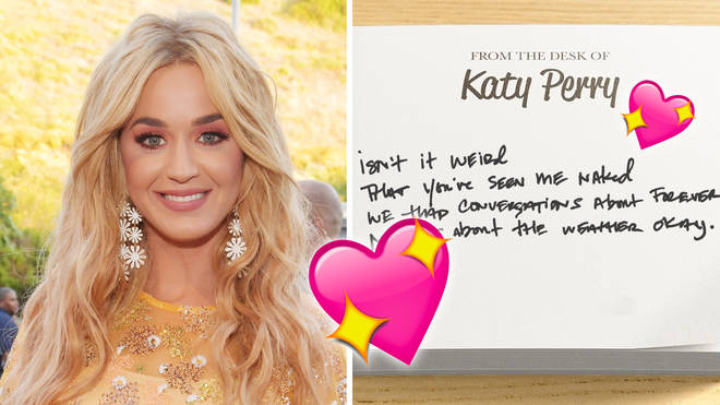 Katy Perry teases lyrics from her new song 'Small Talk'