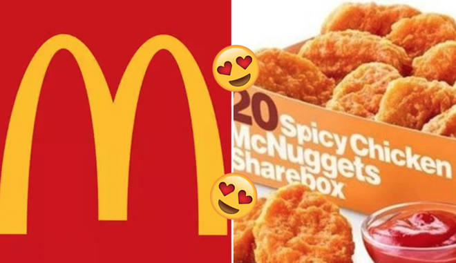 Spicy Chicken McNuggets are now a thing!