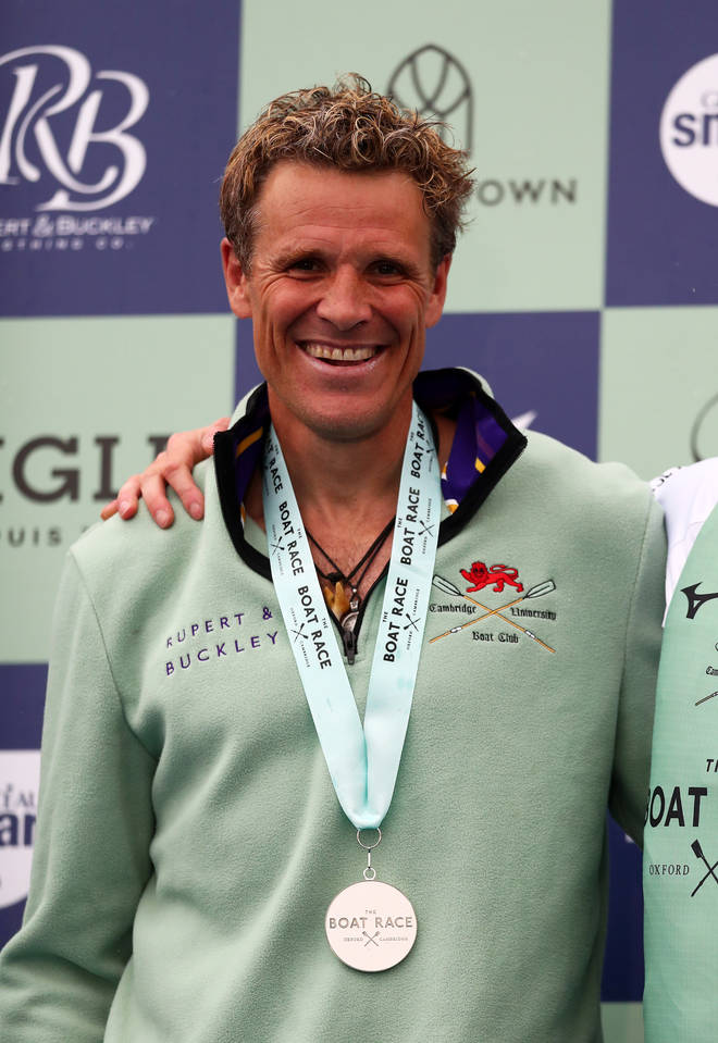 James Cracknell is a rowing champion