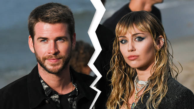 Miley Cyrus and Liam Hemsworth split
