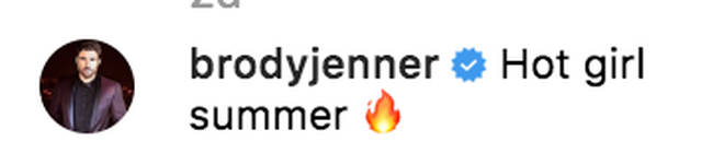 Brody Jenner takes a dig at his ex on her Instagram photo with Miley Cyrus