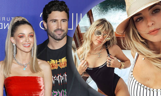 Miley Cyrus and Brody Jenner throw shade at each other on Instagram