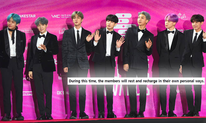 BTS Hiatus: Why Are K-Pop Group Taking A Break And When Did They