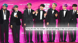BTS have announced they're taking a hiatus