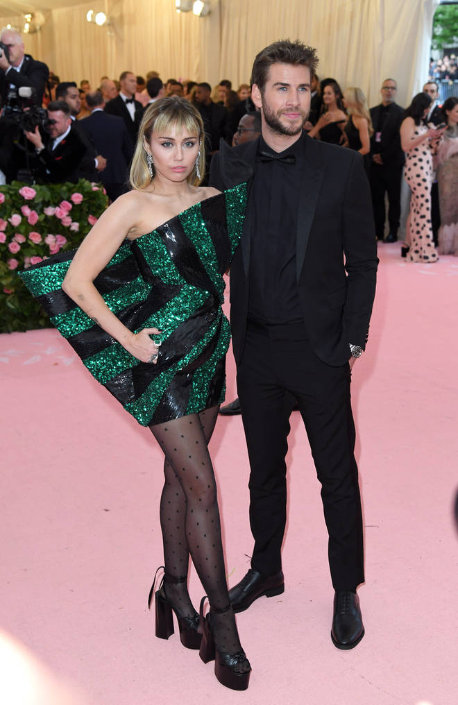 Miley Cyrus and Liam Hemsworth married in December 2018