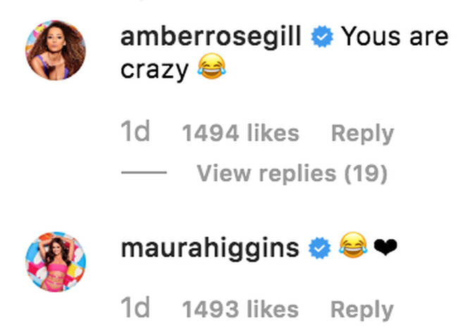 Molly-Mae Hague's comment on Lucie Donlan's Instagram is noticeably absent