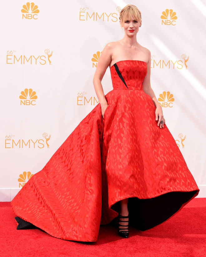 Mad Men star January Jones reportedly got close to Liam Hemsworth in 2011
