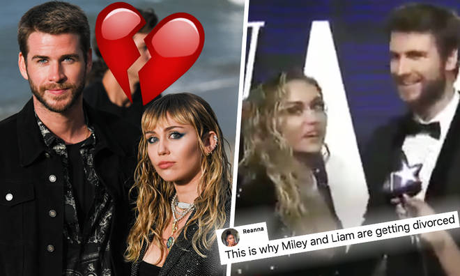 Fans surface 'clues' Miley and Liam were on the rocks before split