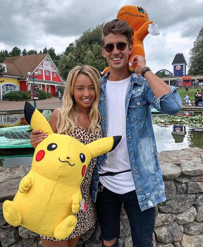 Chris Taylor and Harley Brash are the first Love Island 2019 couple to split