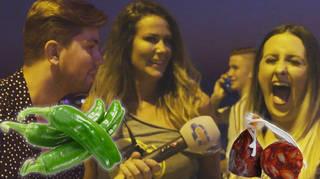 Sonny Jay pranks people in Ibiza with fake DJ names