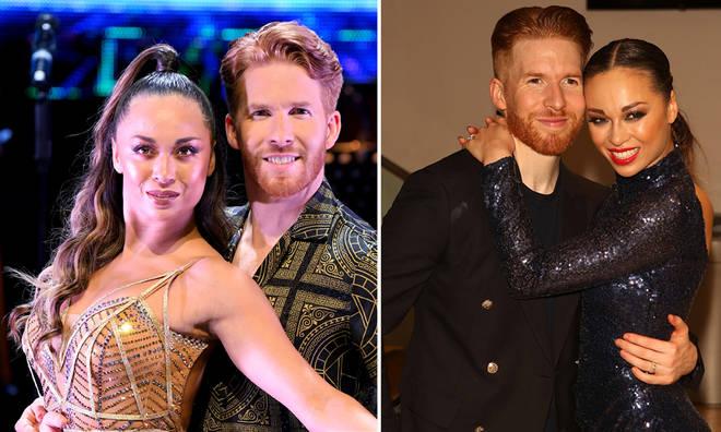 Neil and Katya Jones have split up