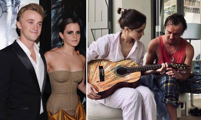 Emma Watson and Tom Felton are close friends