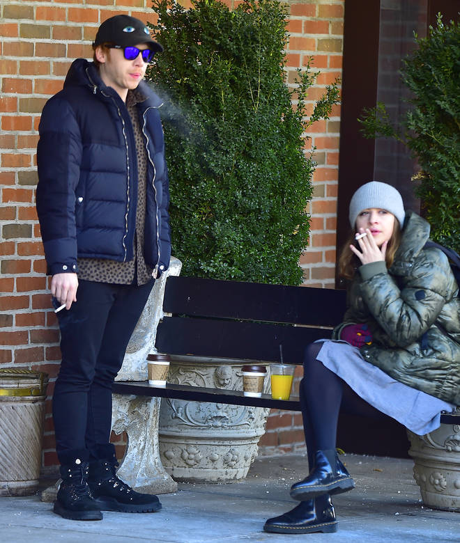 Rupert Grint and his girlfriend are rarely pictured together