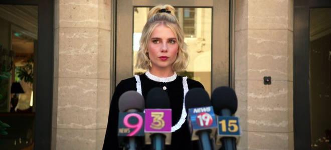 Lucy Boynton stars as Payton's rival in The Politician