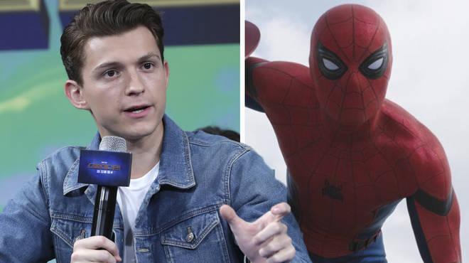 Tom Hollan as Spider-Man