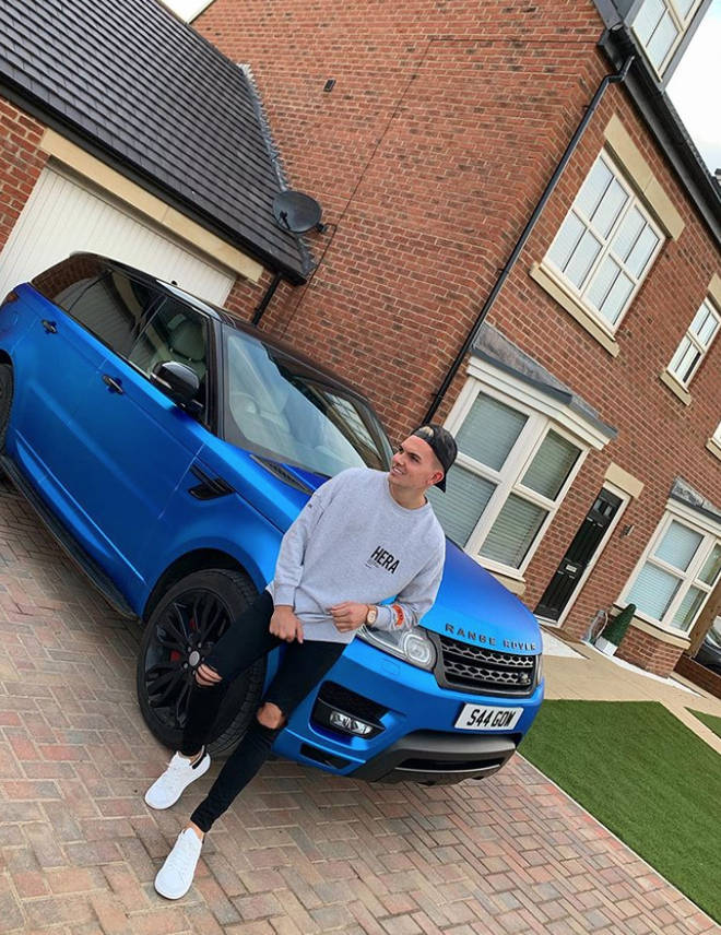 Chloe Ferry and Sam Gowland own a house together