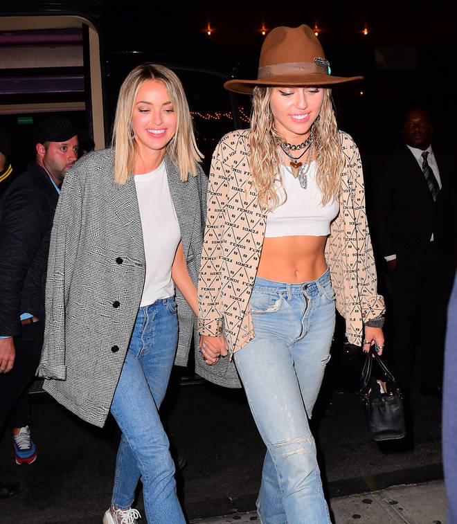 Miley Cyrus steps out with 'girlfriend' Kaitlynn Carter