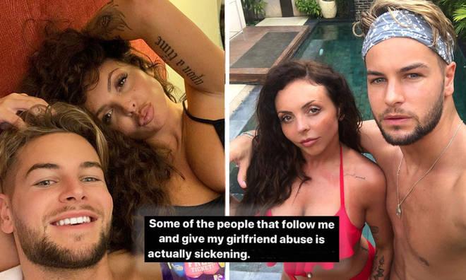 Chris Hughes defends Jesy Nelson from cruel Instagram trolls