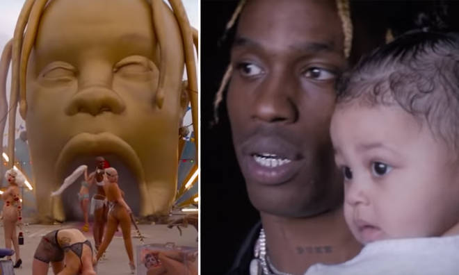 Travis Scott's documentary features Stormi and Kylie.