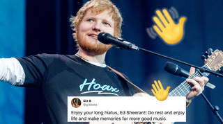 Ed Sheeran is going on a very long break after mammoth two year tour
