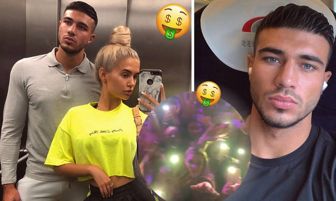 Tommy Fury charges a huge amount for meet and greets with Love Island fans