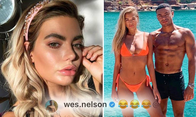 Wes Nelson 'laughs' at ex Megan whilst on holiday with new girlfriend, Arabella Chi