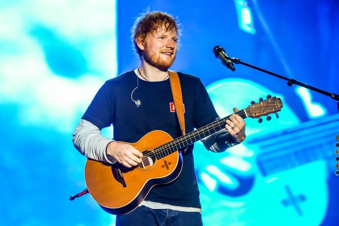 Ed Sheeran has his eyes on new Bond tune