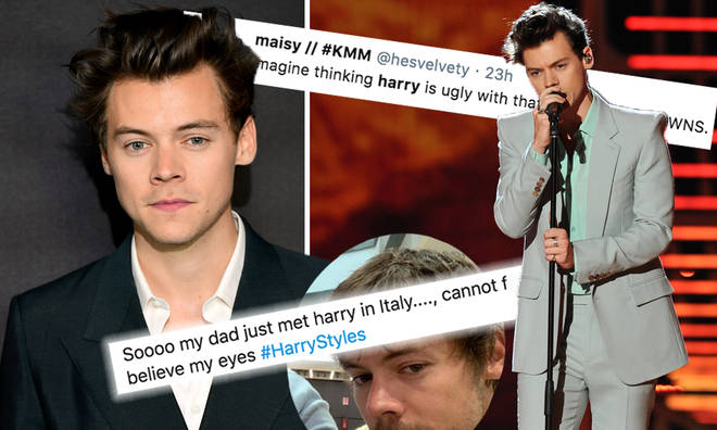 Fans react to Harry Styles's new look