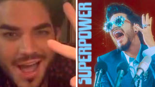 Adam Lambert shared the meaning behind his new song 'Superpower'