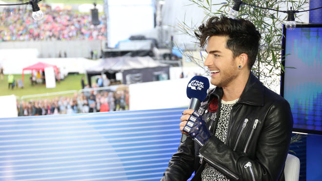 "Adam Lambert referred to &squot;Superpower&squot; as a ""proud rebellion"""
