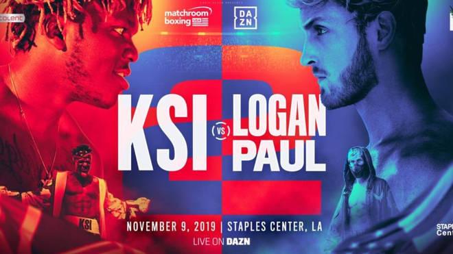 KSI vs Logan Paul 2: the rematch