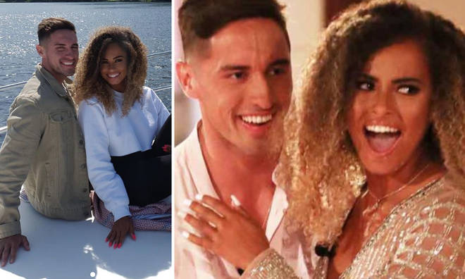 The couple won the 2019 series of Love Island.