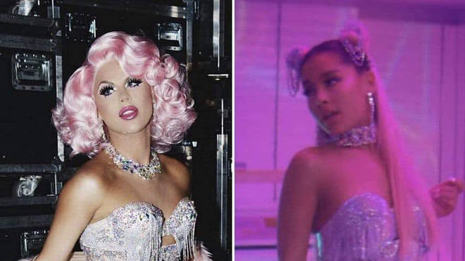 Ariana Grande accused of stealing Farrah Moan's look