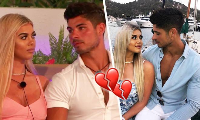 Anton and Belle split five weeks after leaving Love Island