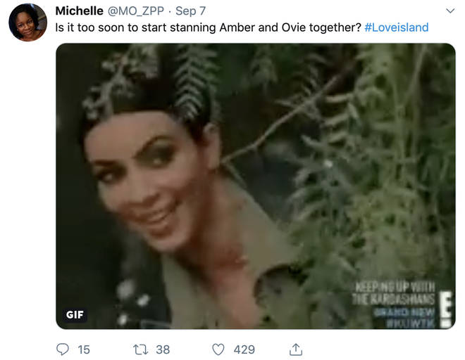 Amber Likes Tweet About Her And Ovie