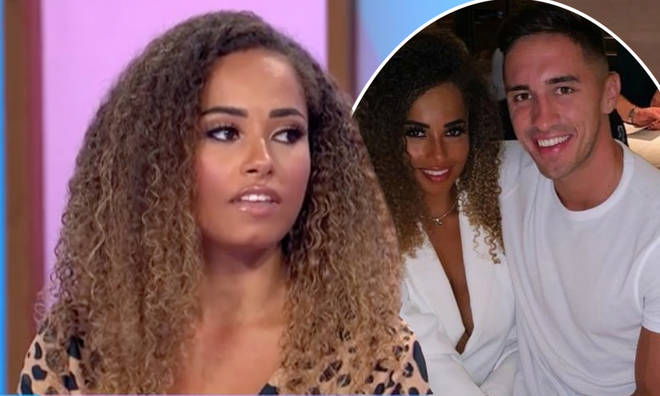 Amber Gill confirmed she and Greg O'Shea ended their relationship over text