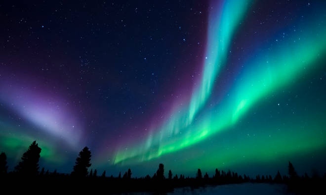 Text for your chance to win a trip to the Northern Lights