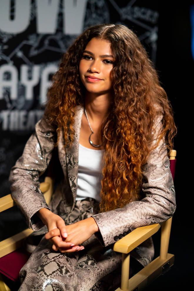 Zendaya's natural hair is incredible