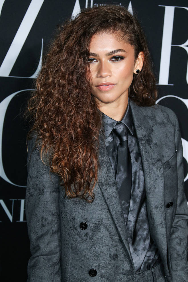 Zendaya's hair is naturally voluminous