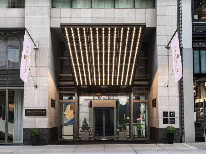 You'll win a luxury stay at The Langham