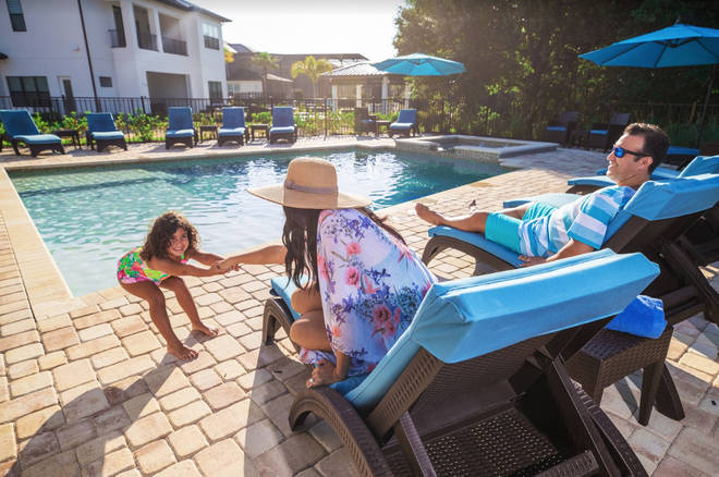 You'll be staying at the Solara Resort Experience Kissimmee