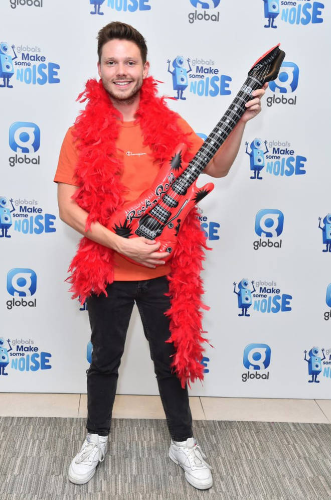 Will Manning dressed loud for 2018's Make Some Noise Day