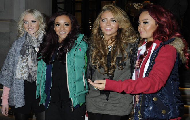Little Mix were crowned winners of The X Factor in 2011.