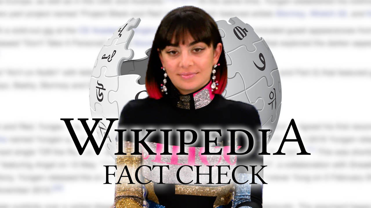 WATCH: Charli XCX Corrects Her Own Wikipedia Page