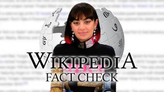 Charli XCX takes on Wikipedia Fact Check