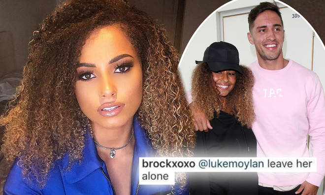 Amber Gill was defended by fans after Greg's friend dubbed her a 'snake'