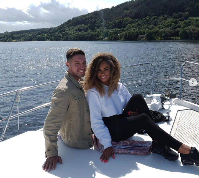 Amber Gill and Greg O'Shea broke up after just five weeks