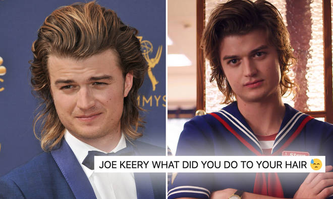 Stranger Things' Joe Keery has ditched his long locks