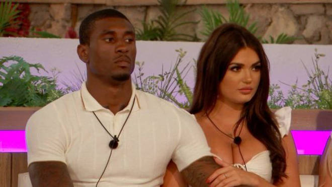 Ovie and India are one of the few remaining Love Island couples