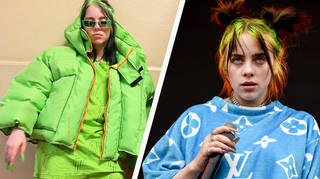 Billie Eilish responds to comments about her clothing